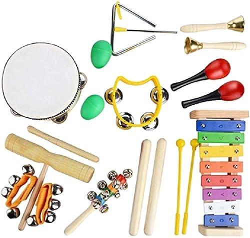 Toyvian Jouet en Bois de Percussion en Bois pour Enfant