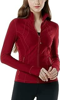 Tesla Women's Yoga Lightweight Active Performance Full-Zip Jacket FYJ01