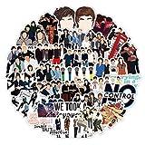 FNM Paquete de Pegatinas estéticas 50 Piezas One Direction 1D Singer Sticker Pack para Maleta Guitarra Laptop Pegatina Motocicleta Estilo Cool Stickers