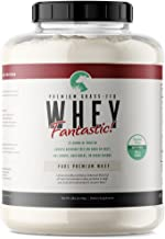 Whey Fantastic 5LB 100% Pure Grass Fed Whey Protein - Unflavored Bulk - Optimum Blend of Undenatured Whey Isolate Concentrate & Hydrolysate for Best Results- Soy & Gluten Free - 75 Servings