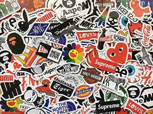 Lot de 50 mini stickers skate, anime, héros, marques, doodle, populaire, déco, scrapbooking