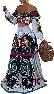 white maxi skirt set