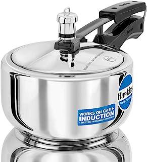 Hawkins B25 Pressure cooker, 2 Litre, Silver