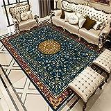 ZAZN Bosnian European Style Carpet, Non-Slip Thickening Washable Living Room Coffee Table Blanket Bedroom Sofa Entering Cushion