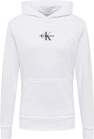 Calvin Klein Jeans Men's Chest Monogram Hoodie Sweater