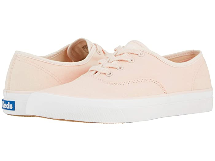 Retro Vintage Flats and Low Heel Shoes Keds Surfer Canvas Rose Womens Shoes $49.95 AT vintagedancer.com