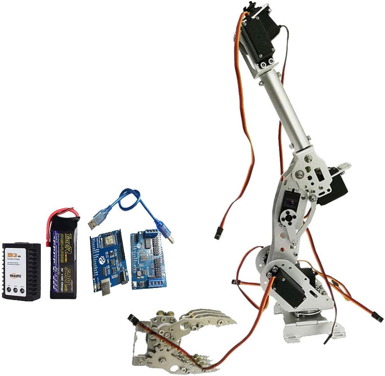 barato Perfeclan Perfeclan Perfeclan Kit de Garra Brazo de Robots Diseño Estructural Mg-996r Servomotor de Arduino Concepto Ergonómico Profesional  El ultimo 2018