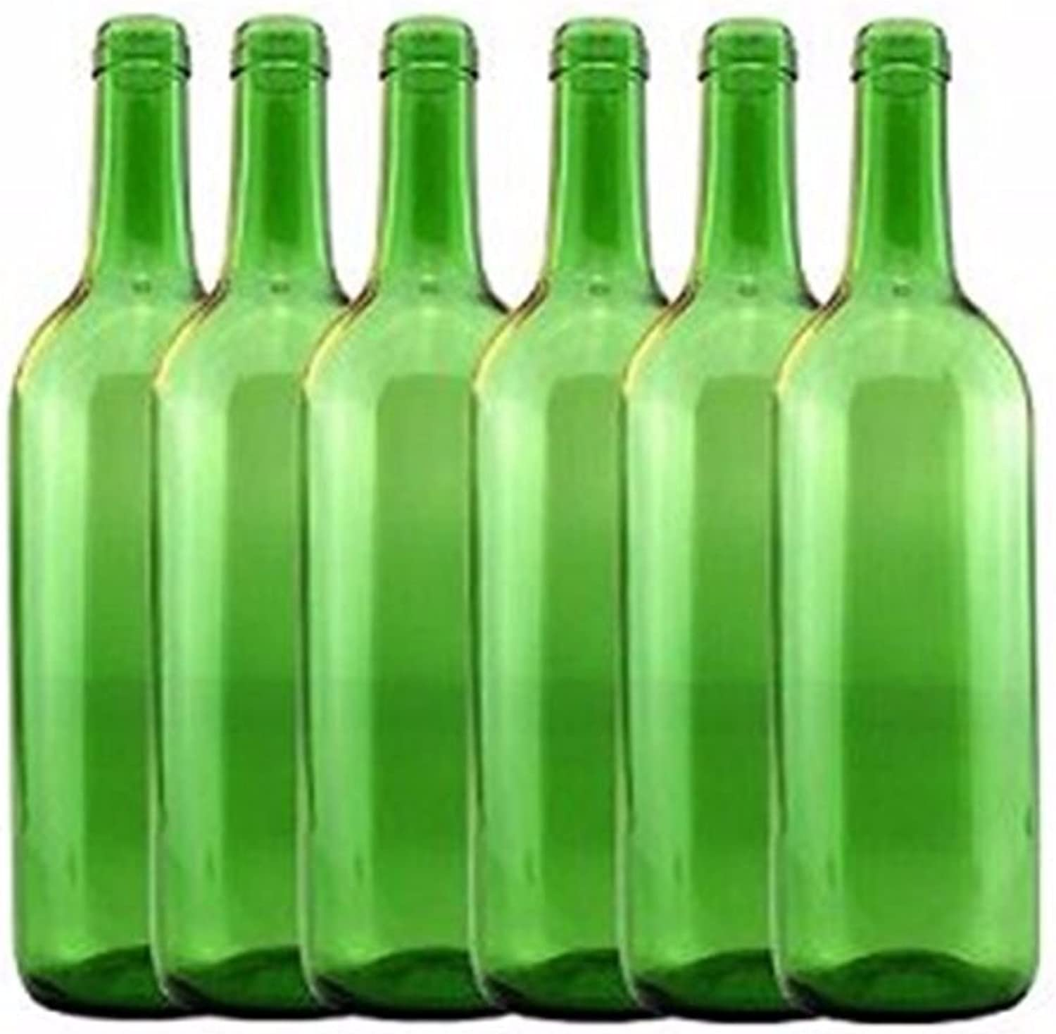 Home Brew Ohio 6 gal Bottle Set  Emerald Green Claret Bordeaux (36 Bottles)