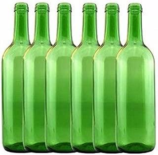 Home Brew Ohio 6 gal Bottle Set: Emerald Green Claret/Bordeaux (36 Bottles)