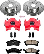 Power Stop KC3156 Z23 Evolution Sport 1-Click Brake Kit with Powder Coated Calipers (Brake Pads, Drilled/Slotted Rotors)