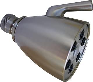 Simpatico 82263Sn Brass Shower Head With Speakman Style 6 Plungers 3