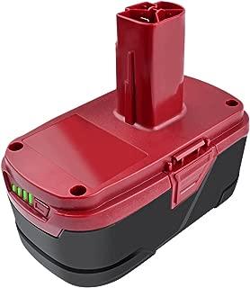 Bonacell C3 Battery 6000mAh 19.2 Volt Li-ion Battery Replacement for Craftsman C3 Battery XCP 19.2 Volt Battery 11375 11376 130279005 130279003 315.113753 1323903 130211004 11045 315.115410 315.11485