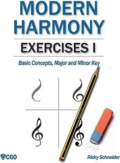 Modern Harmony, Exercises I: Basic Concepts, Major and Minor Key