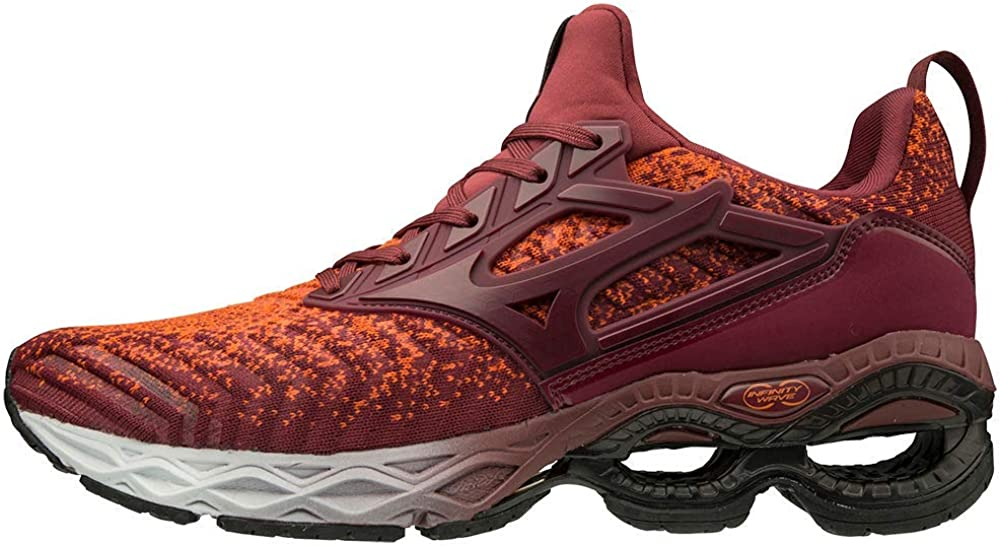 Mizuno Men's Creation San Francisco Mall Inventory cleanup selling sale Waveknit 2 Shoe Running