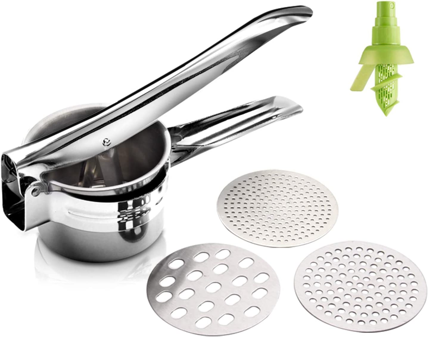 GOGIGI Ricer for Mashed Potatoes Masher Stainless Free shipping on posting reviews Steel Potato Complete Free Shipping M