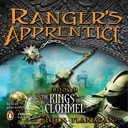 Ranger's Apprentice, Book 8: Kings of Clonmel audiobook cover art
