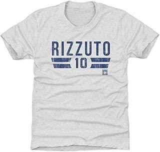 500 LEVEL Phil Rizzuto New York Baseball Kids Shirt - Phil Rizzuto Font