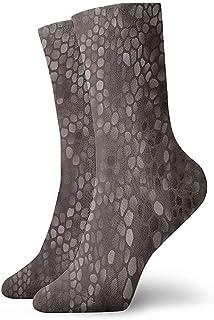 Dydan Tne, Niños Niñas Locos Divertidos Calcetines clásicos de Piel de Serpiente Calcetines Lindos de Vestir de Novedad