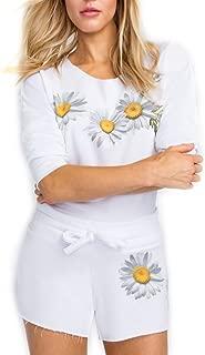 Fresh As A Daisy 5AM Sweatshirt - Clean White