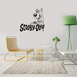 calona Kids Wall Stickers for bedrooms Girls Scooby Doo Art Font Design Decorative Stickers for Pet Room Shop Kids Room Play Room