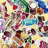 TTBH Kreative süße selbstgemachte Bunte Süßigkeiten Snacks Kaffee Scrapbooking Cartoon Papier...