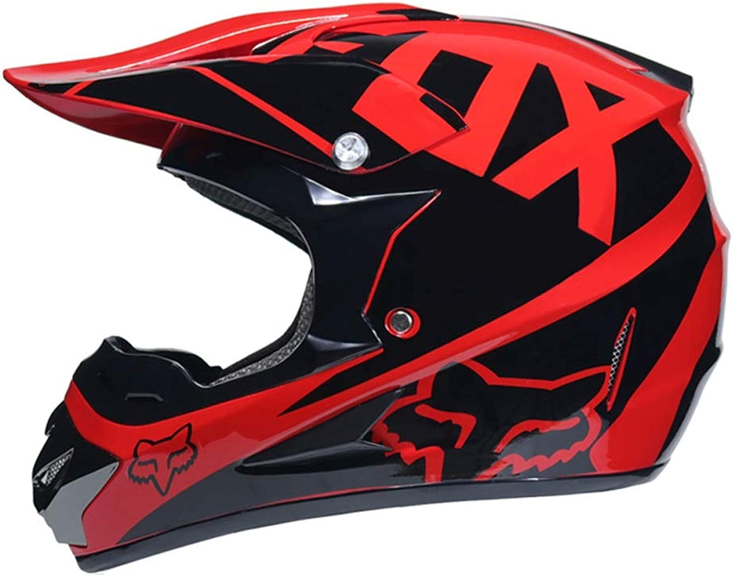 Outdoor Adult Full Face MX Helmet Motocross Off-Road Dirt Bike Motorcycle (color   G, Size   S)