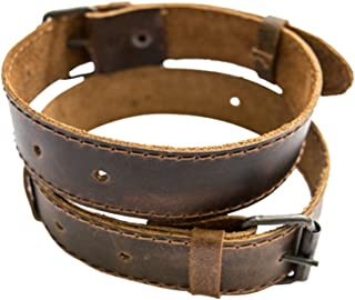 leather hobble belts