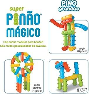 Super Pinão Mágico 20 Peças - Saquinho, Elka, Multicor