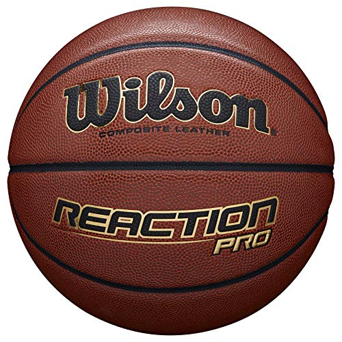 For Sale! Wilson Men's Reaction Pro Basketball, Brown, 7
