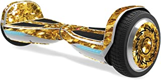 MightySkins Skin Compatible with Razor Hovertrax 1.5 Hover Board - Gold Chips | Protective, Durable, and Unique Vinyl Decal wrap Cover | Easy to Apply, Remove, and Change Styles | Made in The USA
