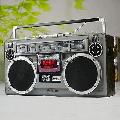 ZXF Multifuncional Máquina De Disco De Vinilo Moderna Radio ...