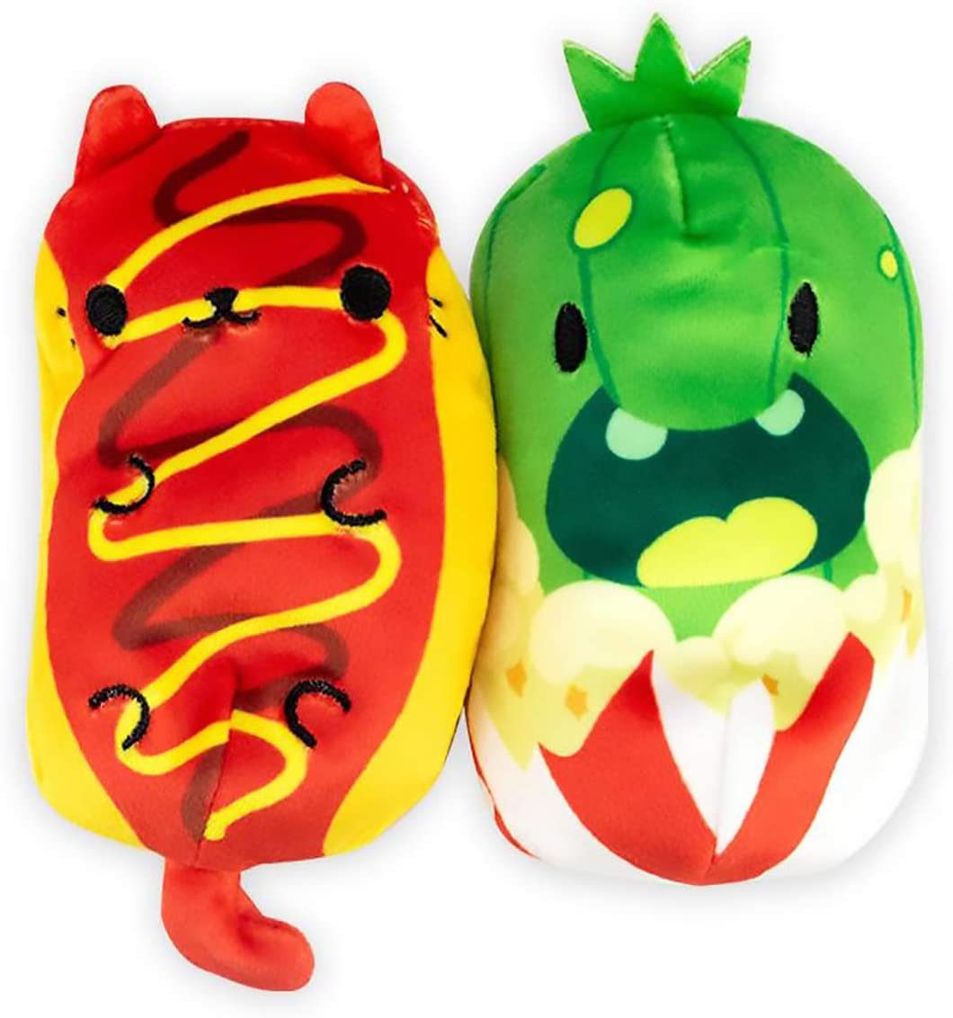 Cats vs Pickles Foodie Exclusive Character 4-Pack with Surprise Pickle!