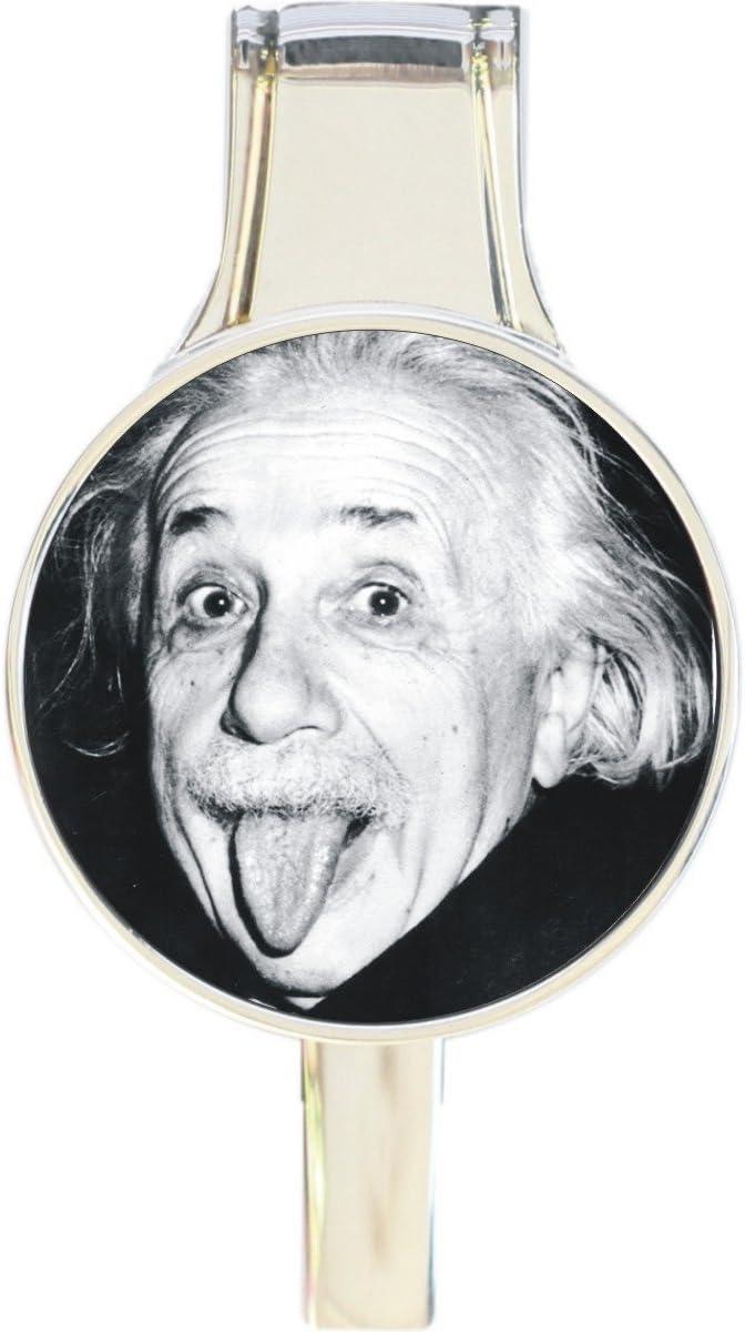 Albert Einstein Tongue Everything Purse Retr Handbag Hanger Hook Choice Max 88% OFF