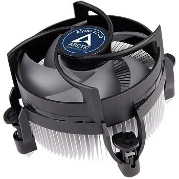ARCTIC Alpine 12 CO - Dissipatore per CPU per Operazioni Continue, Ventola 92 mm, Sistema di Raffreddamento per PC, PWM Sharing Technology, Cuscinetto Doppia Sfera, fino a 100 W, 250-2700 RPM