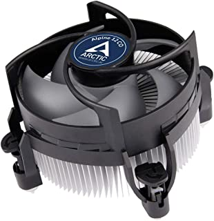 ARCTIC Alpine 12 CO - CPU Cooler for Intel 115x, for Continuous Operation, 92 mm PWM Fan, up to 100 W Cooling Power, Pre-A...