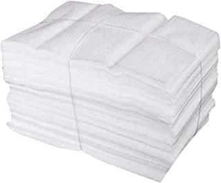 50 Stücke Luftpolsterfolie, EPE Schaumfolie Verpackung Polstermaterial, Zur Aufbewahrung Verpackung Versandmaterial Weiß 25 X 30cm