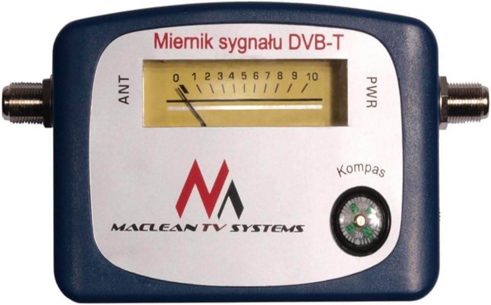 Maclean MCTV-627 - Localizador de señal terrestre DVB-T (VHF, UHF, TV, TNT)