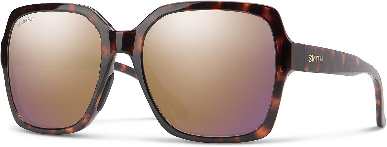 Smith Flare Sunglasses, Matte Black/chromapop Polarized Gray Green, one Size