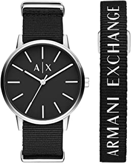 Armani Exchange Men's Three-Hand Stainless Steel Watch AX7111