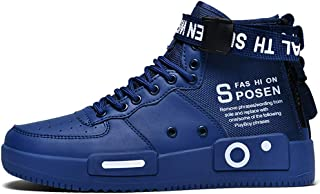 Mens Fashion Sneakers High Top Walking Shoes Sport Athletic Casual Shoe Vogue Stylish Men