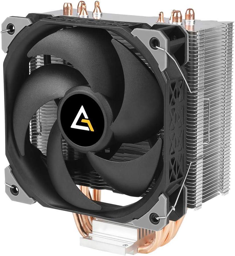 Antec Enfriador de CPU A50-SP AM4 CPU Cooler 4 Heatpipes CPU Air Cooler 120mm PWM Ventilador de refrigeración de aire para Intel/AMD