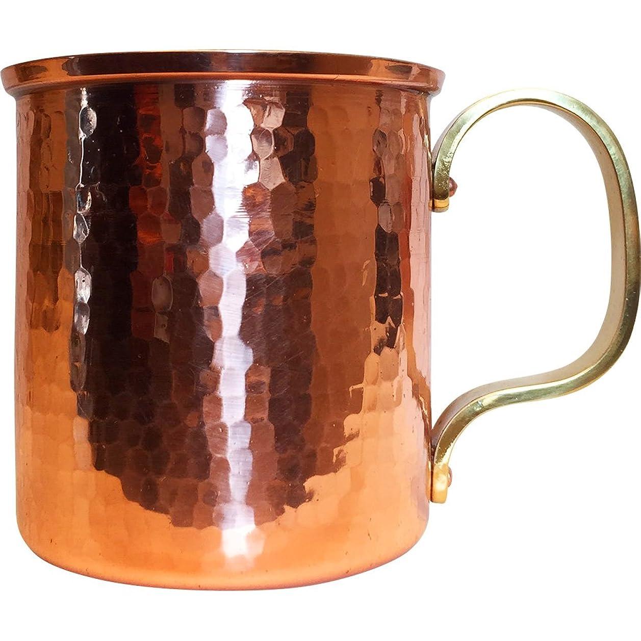 シーサイド没頭する加速度浅草 銅銀銅器店 純銅製 マグカップ 300cc 職人歴40年の星野さんが作る銅製のコップ