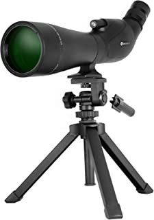 EACONN 20-60x80 Spotting Scope with HD Glass, BAK4 Prism, FMC Optics-IPX7 Waterproof Spotting Scopes for Target Shooting, ...