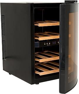 comprar comparacion H.Koenig AGE12WV Vinoteca 12 Botellas, 34 litros, 40 Decibelios, Plástico, Negro