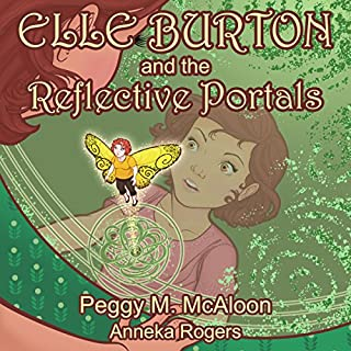 Elle Burton and the Reflective Portals audiobook cover art