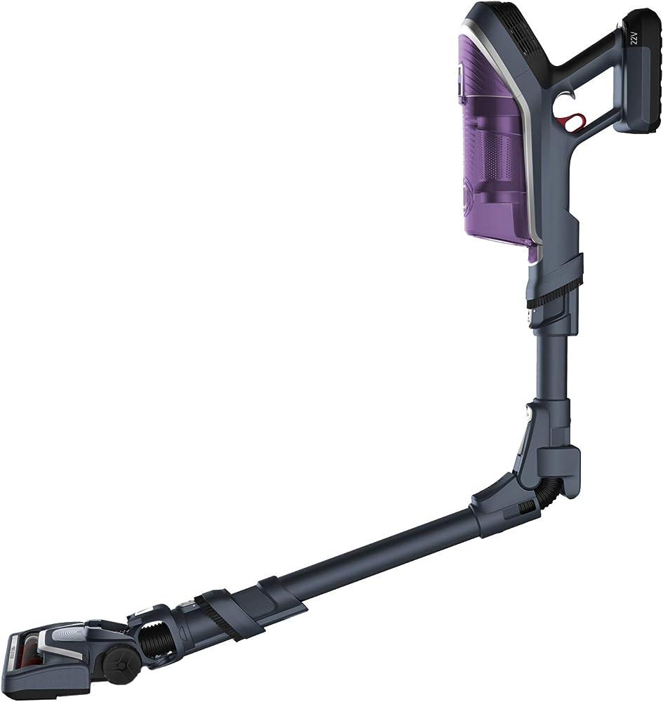 Rowenta xforce flex 8.60 allergy,scopa ricaricabile,aspirapolvere con tubo flessibile per raggiungere ogni pun RH9638