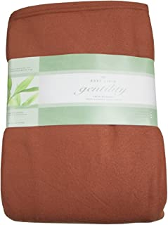 Gentility Polar Fleece Massage Table Blanket, Terra Cotta