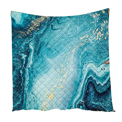Fansu Tagesdecke Bettüberwurf Steppdecke Mikrofaser Doppelbett Einselbetten Tagesdecken Gesteppt Bettwäsche Sofaüberwurf Wohndecke Stepp Gesteppter Quilt (Stil 5,226x280cm)