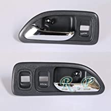 RP Remarkable Power, E1D28 Fit For 1994 1995 1996 1997 94 95 96 97 Accord Interior Front Left and Right Door Handle Set Dark Gray