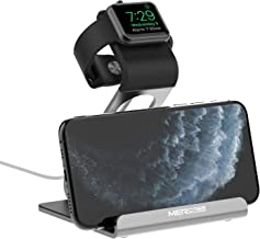 Apple Watch Stand, Mercase Aluminum NightStand iWatch &iPhone Universal Desktop Stand Holder Charging Station for iWatch Series 5/4/3/2/1,iPhone 11/11Pro/11Max/Xs/X Max/XR/X/8/8Plus/7/7Plus-Space Gray